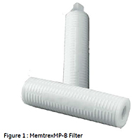 Figure 1 : Memtrex™ MP-B Filter
