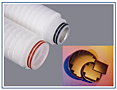 EPS Grade Polyethersulfone Membrane Media Filter Cartridges